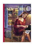 The New Yorker Cover - December 25, 1995 Regular Giclee Print by Owen Smith