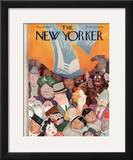 The New Yorker Cover - May 13, 1939 Framed Giclee Print by William Cotton