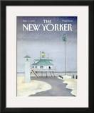 The New Yorker Cover - December 3, 1984 Framed Giclee Print by Susan Davis