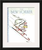 The New Yorker Cover - December 30, 1991 Framed Giclee Print by Lee Lorenz