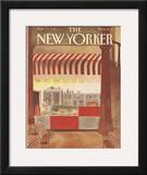 The New Yorker Cover - February 11, 1985 Framed Giclee Print by Abel Quezada