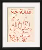 The New Yorker Cover - September 22, 1986 Framed Giclee Print by Robert Tallon