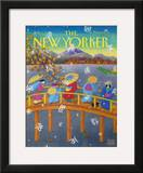 The New Yorker Cover - February 3, 1992 Framed Giclee Print by Bob Knox