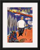 The New Yorker Cover - February 1, 1930 Framed Giclee Print by Julian de Miskey