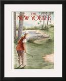 The New Yorker Cover - January 27, 1940 Framed Giclee Print by Constantin Alajalov