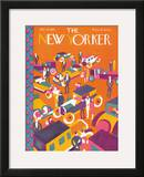 The New Yorker Cover - January 8, 1927 Framed Giclee Print by Ilonka Karasz