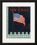The New Yorker Cover - July 4, 1942 Framed Giclee Print by Rea Irvin