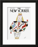 The New Yorker Cover - February 18, 1980 Framed Giclee Print by Paul Degen