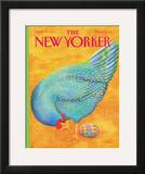 The New Yorker Cover - April 20, 1992 Framed Giclee Print by Jenni Oliver