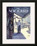 The New Yorker Cover - July 8, 1967 Framed Giclee Print by Arthur Getz