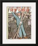 The New Yorker Cover - February 5, 1938 Framed Giclee Print by Peter Arno