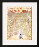 The New Yorker Cover - March 14, 1983 Framed Giclee Print by George Booth