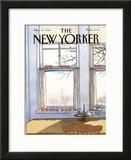 The New Yorker Cover - November 19, 1984 Framed Giclee Print by Arthur Getz