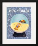 The New Yorker Cover - March 12, 1990 Framed Giclee Print by Kathy Osborn