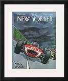 The New Yorker Cover - September 3, 1966 Framed Giclee Print by Peter Arno