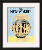 The New Yorker Cover - November 20, 1989 Framed Giclee Print by Bob Knox