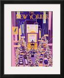 The New Yorker Cover - March 10, 1928 Framed Giclee Print by Ilonka Karasz