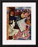The New Yorker Cover - August 20, 1932 Framed Giclee Print by Harry Brown