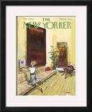 The New Yorker Cover - March 7, 1964 Framed Giclee Print by Charles Saxon