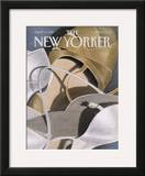 The New Yorker Cover - April 3, 1989 Framed Giclee Print by Gretchen Dow Simpson