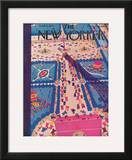 The New Yorker Cover - June 15, 1929 Framed Giclee Print by Sue Williams
