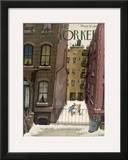 The New Yorker Cover - February 2, 1946 Framed Giclee Print by Edna Eicke