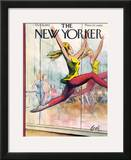 The New Yorker Cover - October 15, 1955 Framed Giclee Print by Arthur Getz