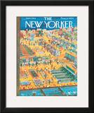 The New Yorker Cover - June 2, 1962 Framed Giclee Print by Anatol Kovarsky