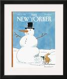 The New Yorker Cover - January 27, 1992 Framed Giclee Print by Danny Shanahan