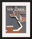 The New Yorker Cover - March 5, 1990 Framed Giclee Print by Gretchen Dow Simpson