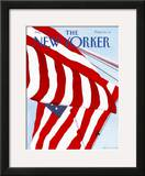 The New Yorker Cover - July 2, 1990 Framed Giclee Print by Gretchen Dow Simpson