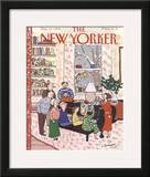 The New Yorker Cover - December 10, 1990 Framed Giclee Print by Devera Ehrenberg