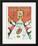 The New Yorker Cover - November 24, 1928 Framed Giclee Print by Julian de Miskey