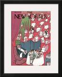 The New Yorker Cover - October 16, 1943 Framed Giclee Print by Ludwig Bemelmans