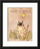 The New Yorker Cover - November 1, 1982 Framed Giclee Print by William Steig
