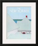 The New Yorker Cover - June 23, 1975 Framed Giclee Print by Gretchen Dow Simpson