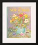 The New Yorker Cover - May 25, 1981 Framed Giclee Print by Jenni Oliver