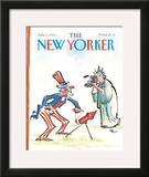 The New Yorker Cover - July 3, 1989 Framed Giclee Print by Lee Lorenz
