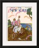 The New Yorker Cover - June 16, 1928 Framed Giclee Print by Julian de Miskey