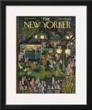 The New Yorker Cover - August 4, 1956 Framed Giclee Print by Ilonka Karasz