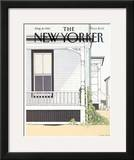 The New Yorker Cover - August 9, 1982 Framed Giclee Print by Gretchen Dow Simpson