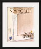 The New Yorker Cover - March 25, 1985 Framed Giclee Print by Paul Degen