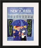 The New Yorker Cover - October 12, 1987 Framed Giclee Print by Barbara Westman