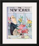 The New Yorker Cover - March 4, 1961 Framed Giclee Print by William Steig