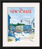 The New Yorker Cover - July 6, 1981 Framed Giclee Print by Arthur Getz