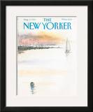 The New Yorker Cover - August 5, 1985 Framed Giclee Print by Arthur Getz