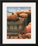 The New Yorker Cover - November 4, 1991 Framed Giclee Print by Gretchen Dow Simpson