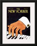 The New Yorker Cover - February 10, 1992 Framed Giclee Print by Donald Reilly