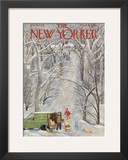 The New Yorker Cover - February 5, 1949 Framed Giclee Print by Ilonka Karasz