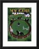 The New Yorker Cover - June 18, 1949 Framed Giclee Print by Edna Eicke